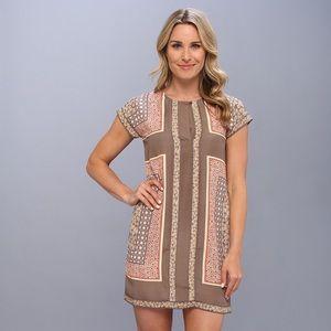 NWT Nic + Zoe Floral Multi Tile Tunic Shift Dress